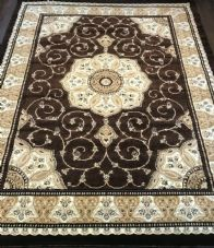 Modern Rugs Approx 11x8ft 240x340cm Woven Thick Quality Brown/Beige XX LARGE RUG